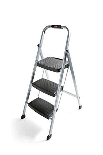 Rubbermaid RM-3W Folding 3-Step Steel Frame...