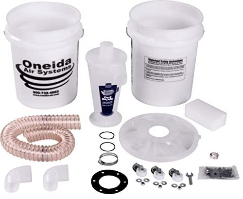 Oneida Molded Deluxe Dust Deputy Kit with Two...