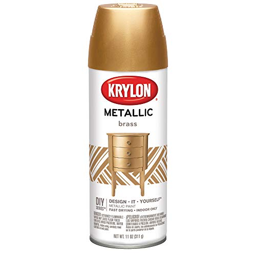 Krylon K02204 BRILLIANT SPRAY PAINT METALLIC...