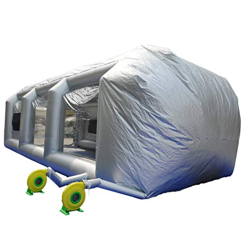 SAYOK Inflatable Paint Booth 33x16.4x11.5ft...