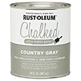 Rustoleum 285141 30 Oz Country Gray Chalked...