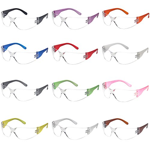 Safety Glasses 12x Assorted Protective...