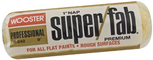 Wooster Brush R242-9 Super/Fab Roller Cover,...