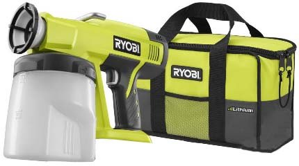 Ryobi P630 One+ 18V Cordless Power Paint...