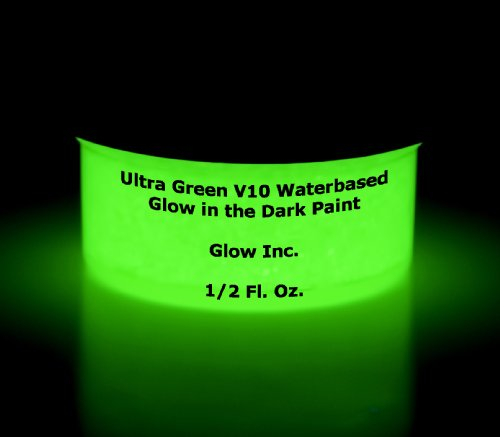 Ultra-green water based glow in the dark...