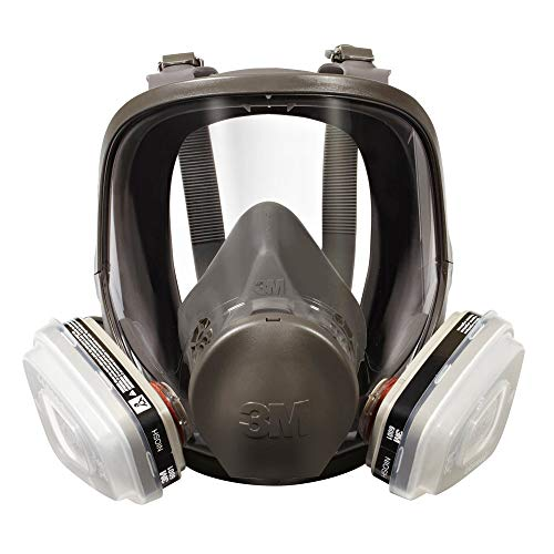 3M 7162 Full-Facepiece Spray Paint Respirator...