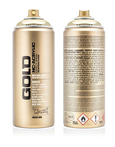 Montana Cans Montana GOLD 400 ml Color,...