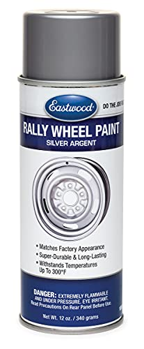 Eastwood Acrylic Rally Wheel Argent Silver...