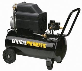 Central Pneumatic 2 HP, 8 Gallon, 125 PSI...