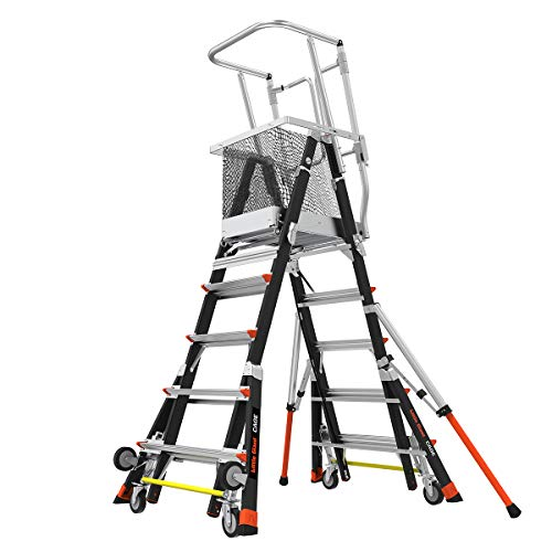 Little Giant Ladders, Adjustable Safety Cage,...