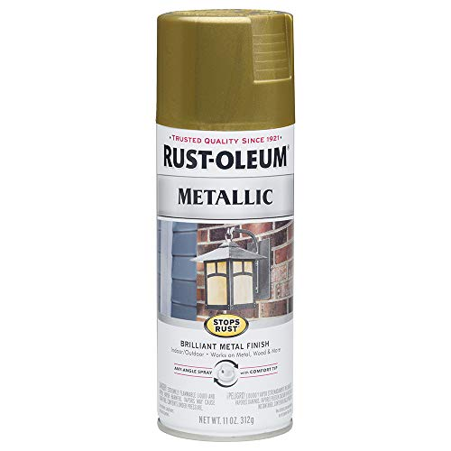 Rust-Oleum 7275830 Stops Rust Metallic Spray...