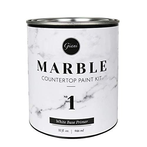 Giani FG-MB WHT PRMR Marble Countertop Paint...