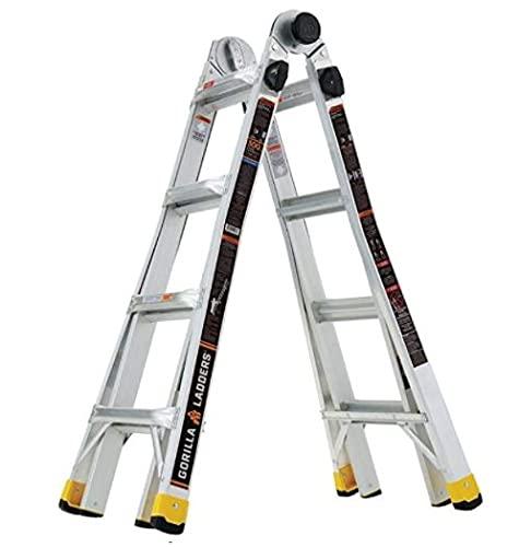 Gorilla Ladders GLMPXA-18 18 ft. Reach MPX...
