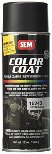 SEM Paints SEM15243 Satin Black Color Coat...