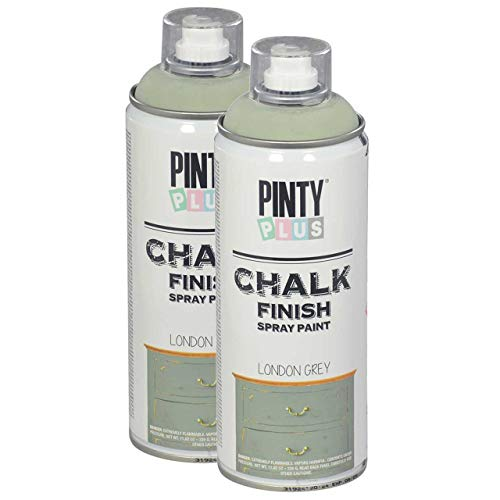 Pintyplus Chalk Finish Spray Paint - London...