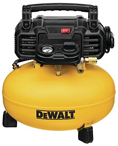 DEWALT Pancake Air Compressor, 6 Gallon, 165...