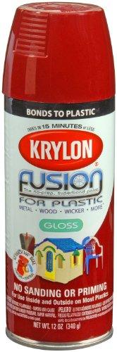 Krylon K02325007 Fusion Spray Paint, Burgundy