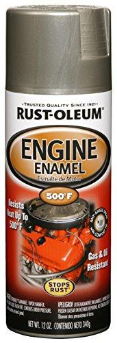 Rust-Oleum 248949 Engine Enamel, Aluminum, 12...
