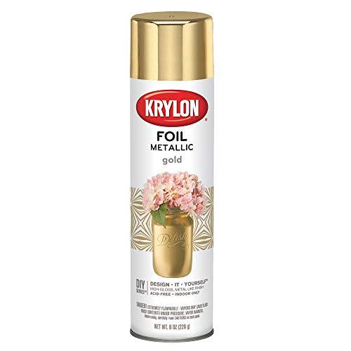 Krylon K01050000 Spray Paint, Gold Foil