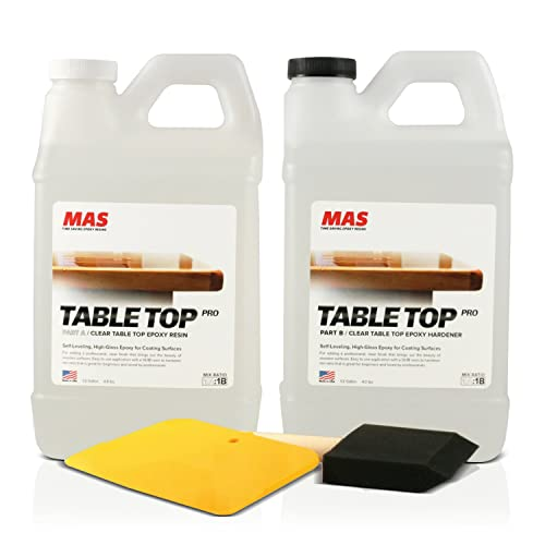 Crystal Clear Epoxy Resin One Gallon Kit  ...