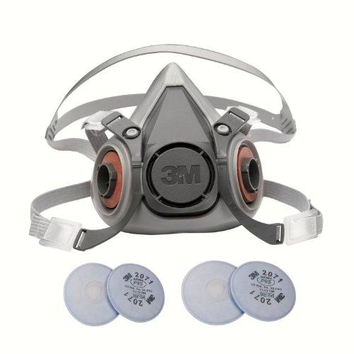 3M 6000 Series Respirator Medium Half Mask...