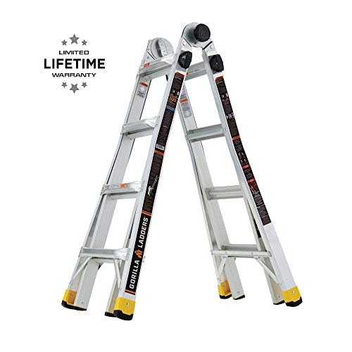 Gorilla Ladders GLMPXA-18 18 ft. Reach MPX...