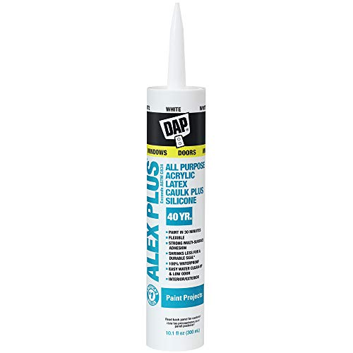 DAP INC 18152 10.1oz White Alex Plus Acrylic...
