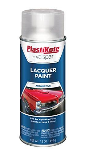 PlastiKote T-5 Clear Lacquer Paint - 12 Oz.