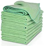 VibraWipe Microfiber Cleaning Cloth 8-Pack,...