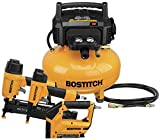 BOSTITCH Air Compressor Combo Kit, 3-Tool...