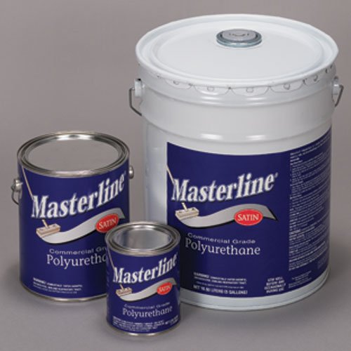 Masterline Polyurathane Semi Gloss, 5 Gallon