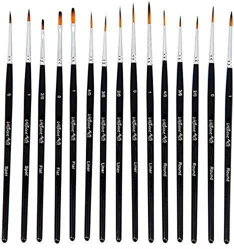Virtuous Arts Fine Paintbrushes, Handmade...