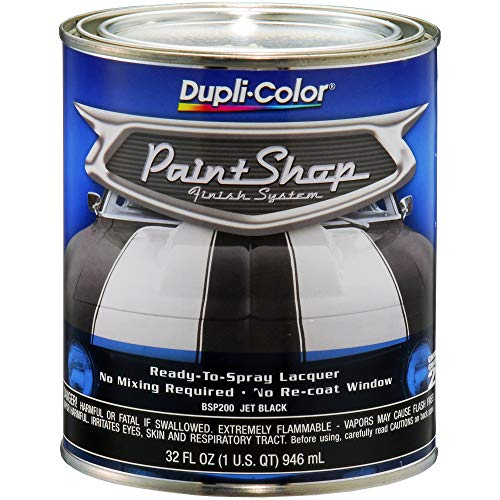 Dupli-Color BSP200 Jet Black Single Paint...