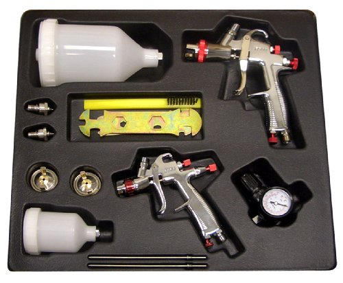 SPRAYIT SP-33500K LVLP Gravity Feed Spray Gun...