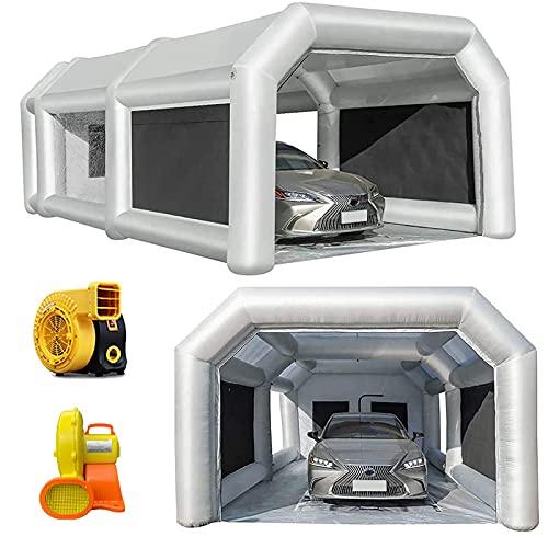LuckyWe Inflatable Spray Booth Car Paint Room...