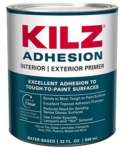 KILZ Adhesion High-Bonding Interior/Exterior...