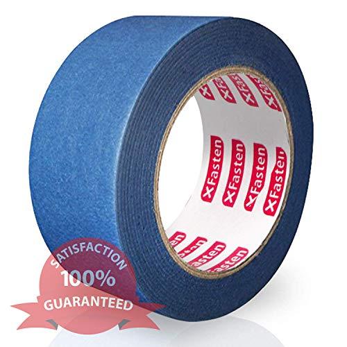 XFasten Professional Blue Painters Tape, Edge...