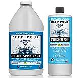 Epoxy Resin Deep Pour Crystal Clear Formula-2...