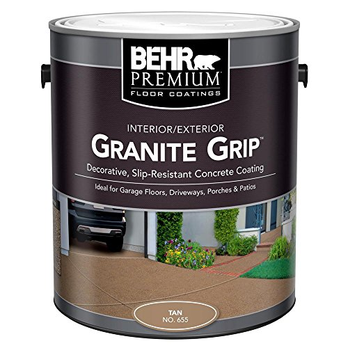 BEHR 1 gal. #65501 Tan Granite Grip...