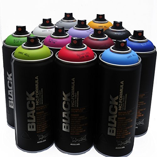 Montana BLACK 400ml Popular Colors Set of 12...