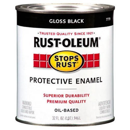 Rust-Oleum 7779504 Stops Rust Brush On Paint,...