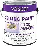 Valspar 1420 Color Changing Latex Ceiling...
