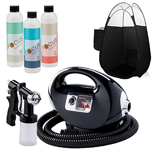 Black Fascination FX Spray Tanning Kit with...