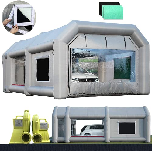 Sewinfla Professional Inflatable Paint Booth...