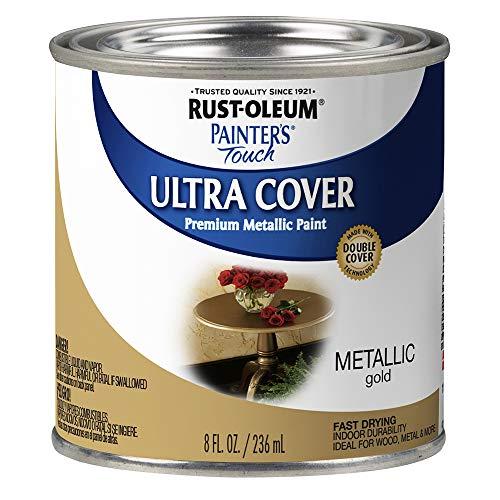 Rust-Oleum 254101, Quart, Metallic Oil-Rubbed...