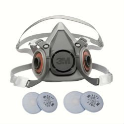 3M 6000 Series Respirator Medium Half Mask Facepiece