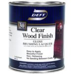 Deft Interior Clear Wood Finish Gloss Brushing Lacquer