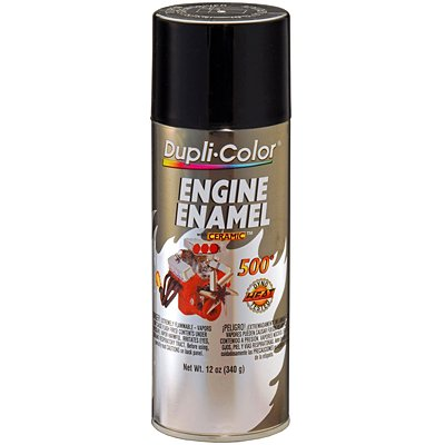 Dupli-Color EDE161307 Ceramic Gloss Black Engine Paint