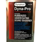 Dynatron 544 Dyna-Pro Paintable Rubberized Undercoating Can