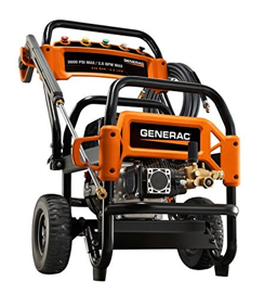Generac 6855 3,600 PSI, 2.6 GPM, Gas Powered Commercial Pressure Washer